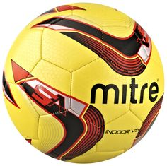 Too cold to get outside and practice? Try out the Mitre Indoor V5 ball, designed specifically for the needs of any hardcore indoor player. #mitre #indoorsoccer #soccer #sports