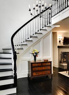 Black Handrail Design, Pictures, Remodel, Decor and Ideas - page 2
