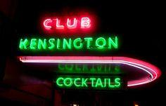 Club Kensington Neon, Adams Avenue San Diego CA by JoeInSouthernCA, via Flickr