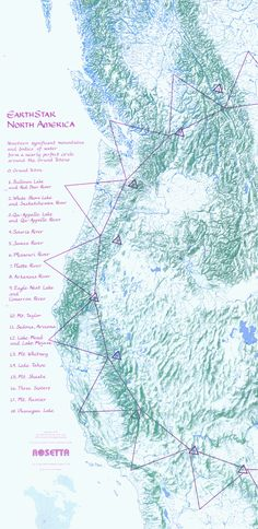 Magnetic Ley Lines In America Edgar Cayces Map Which Is The - Us navy map of future of mexico