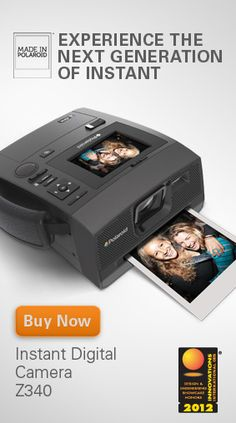 I want this!!!! Instant Digital Polaroid camera!!!