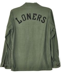Loners Army Shirt