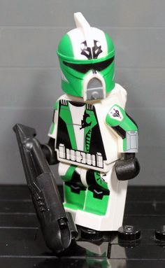 Clone Army Customs | Scuba Green Monnk