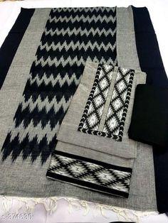 Khadi cotton: free COD Samaira Women's Fancy Suits & Dress Materials Vol 1 Fabric: Top - Khadi Cotton, Bot. Embroidery Suits Design, Embroidery Fashion, Batik Prints, Ikat Print, Salwar Dress, Salwar Suits, Punjabi Suits, Salwar Kameez, Fancy Dress Material