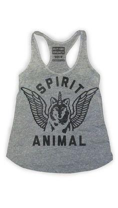 Spirit Animal Tank