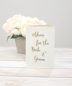 Advice for the bride and groom- custom colors