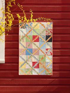 Walk--Don't Run quilt (charm pack) (pic only)