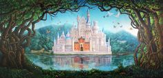 """TheatreWorld goes """"Beyond the Script"""" to share some of our most exciting backdrops and set design tips for the Rogers and Hammerstein classic, CINDERELLA. Read our blog post and let TheatreWorld be your theatrical Fairy Godmother! View our entire #cinderella collection here: https://www.theatreworldbackdrops.com/theme/14/cinderella. #theatreworld #backdrops #handpainted #fairytale #castle #musicaltheatre #theatricalrentals"""