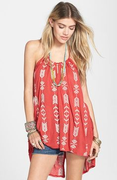 Free People 'Peace & Arrow' Tunic available at #Nordstrom
