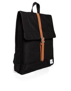 Image 2 ofHerschel Supply Co City Backpack in Black