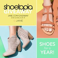 Win Shoes For A Year from Jane.com Shoes For A Year Giveaway