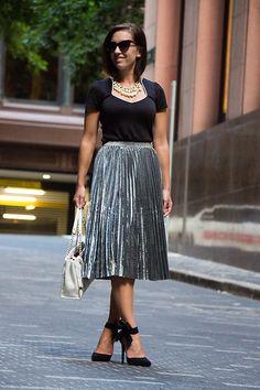 Moda Indie, Saltos De Arco, Saia Metalizada, Estilo Pessoal, Modcloth, Kate 7e7a5d9c0a