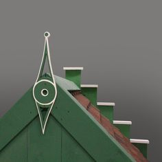 Roof tip Dutch Play House