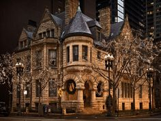 19th Century Victorian House, Chicago, Illinois ABANDONED. Seriously! Wow...