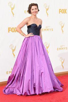 Pin for Later: De Nombreuses Stars se Sont Retrouvé Sur le Tapis Rouge des Emmy Awards Maggie Gyllenhaal