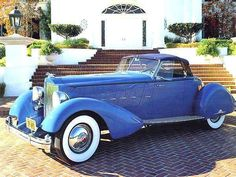 1934 Packard V12 Speedster by LeBaron