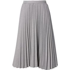 Houndstooth Pleated Midi Skirt ($118) ❤ liked on Polyvore featuring skirts, midi skirt, mid-calf skirts, knee length pleated skirt, pleated skirt and calf length skirts