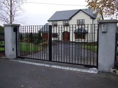 Steel Gates and Wrought Iron Gates for gardens or business