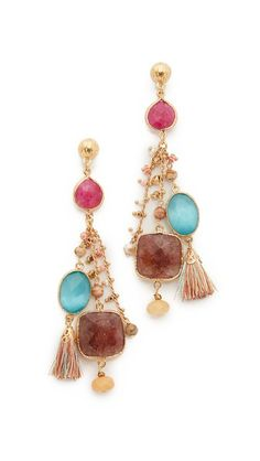 GAS Bijoux Serti Pondichery Earrings