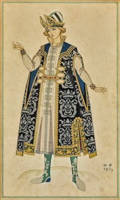 Theatre Costumes, Ballet Costumes, Historical Costume, Historical Clothing, Ivan Bilibin, Russian Folk Art, Russian Fashion, Russian Style, Fairytale Art