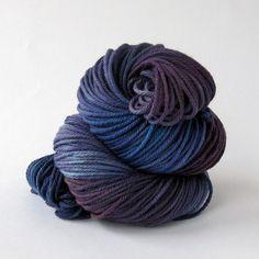 HandPainted Worsted Superwash Merino Yarn  Fit by MammothWoolworks