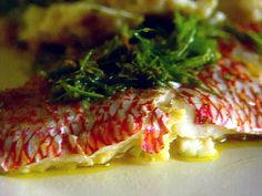 Roasted Red Snapper with Rosemary recipe from Giada De Laurentiis via Food Network. Very tasty!