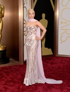 Lady Gaga - I actually loooove the dress!!! No bubble-wrap this time!