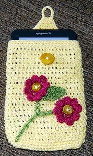 crochet Kindle/Nook cover