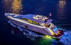 Her name certainly says it all. The Excellence IV exudes luxury, beauty and sporty performance. She is a 92 Pershing express motor yacht that is sure to make all...