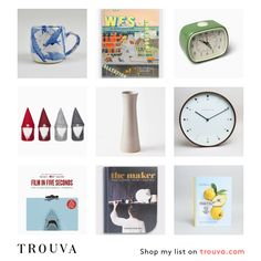 Likes is a curated list of 14 products, created and shared by a member of the Trouva community