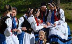Kaszuby Folk Costume, Costumes, Polish Folk Art, Folk Clothing, Eastern Europe, This Is Us, Clothes, Spaces, Google Search