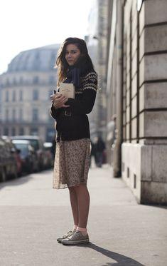 On the Street…..Near Palais Royal, Paris « The Sartorialist