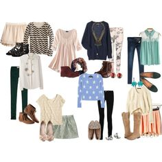 Check out these ideas for outfits for Fall! Just in time for #backtoschool