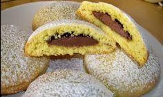 Biscotti con ripieno di nutella. Pasta frolla morbidissima!