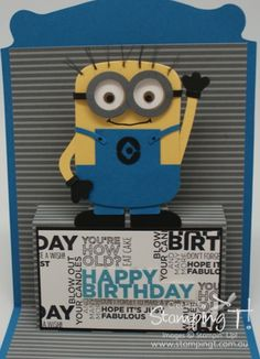 Stampin' Up! Stamping T! - One in a Minion