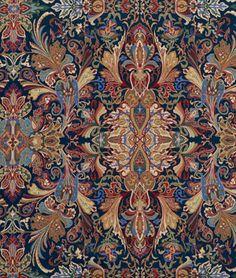 Ralph Lauren Lakota Paisley Imperial Blue Fabric