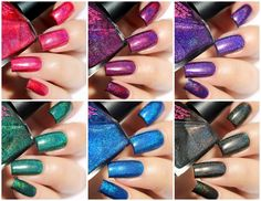 Fashion Polish: Superchic Lacquer Dreamology Collection (One Coat Linear Holo Power) swatches and review