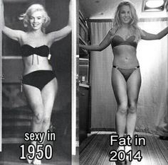 """Hate the stereotype of what's fat both are beautiful Marilyn Monroe & Britney Spears>>>> I hate the fact that you really used """"fat"""" as an insult. Health Images, Memes In Real Life, Sexy, Mode Chic, New Memes, Body Love, Body Image, Britney Spears, Female Bodies"""