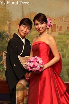(記事、追記しました。) Bridesmaid Dresses, Wedding Dresses, Bordeaux, One Shoulder, Deco, Formal Dresses, Floral, Blog, Fashion