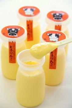 Japanese Milk Pudding. Yummy PD