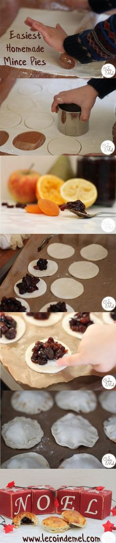 Easiest Homemade Mince Pies - these mince pies take minutes to make!