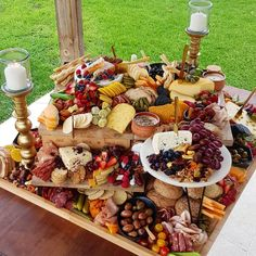 K B wedding GRAZER 🧀🍇🍐🍓 This got absolutely smashed. I loved hearing all the compliments from people too 🙌🏻💁🏻♀️ Thanks to my Team who… Party Food Platters, Party Trays, Food Trays, Party Snacks, Charcuterie And Cheese Board, Charcuterie Platter, Charcuterie Wedding, Charcuterie Display, Catering Display