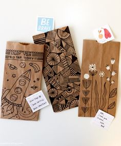 Think.Make.Share. designer Cece Merkle and lettering artist Amber Goodvin went to the Re:Make Festival to share DIY Hallmark projects with makers.