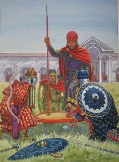 Imperial Elevation of Nikephoros Phokas.