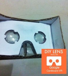 Picture of DIY Lens For Google Cardboard VR