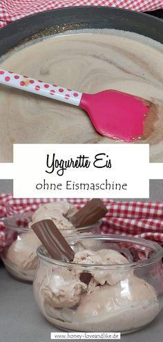 Yogurette Eis ohne Eismaschine selber machen Chef Recipes, Easy Peasy, Summer Recipes, Good Food, Ice Cream, Favorite Recipes, Summer Food, Chocolate, Sorbet