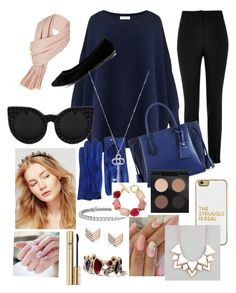 Sassy, Smart, Sensitive and Scary. by houslanderl on Polyvore featuring polyvore, fashion, style, Paisie, River Island, Breckelle's, Longchamp, Full Tilt, Oscar de la Renta, Chloe + Isabel, FOSSIL, Blue Nile, Free People, Delalle, BaubleBar, MAC Cosmetics, Dolce&Gabbana and clothing