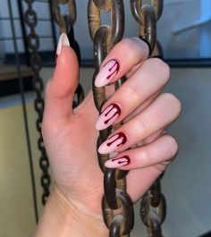 Holloween Nails, Halloween Acrylic Nails, Cute Halloween Nails, Acrylic Nails Coffin Short, Almond Acrylic Nails, Fall Acrylic Nails, Spooky Halloween, Scary Nails, Witchy Nails