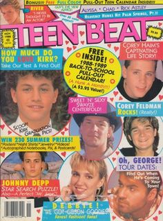 Teen Beat Magazine with Kirk Cameron on the cover *swoon*!
