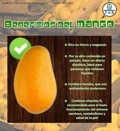 Beneficios de comer mango.
